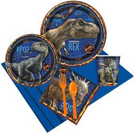 Jurassic World 2: Fallen Kingdom Party Pack for 8