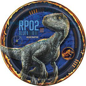 "Jurassic World: Fallen Kingdom 7"" Cake Plates (8)"