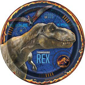 "Jurassic World: Fallen Kingdom 9"" Luncheon Plates (8)"