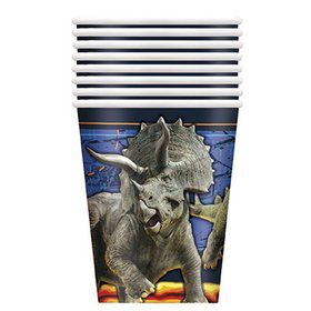 Jurassic World: Fallen Kingdom Paper 9oz Cups (8)