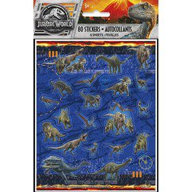 Jurassic World: Fallen Kingdom Sticker Sheets (4)