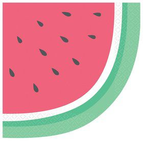 Just Chillin' Lunch Watermelon Lunch Napkins (16)