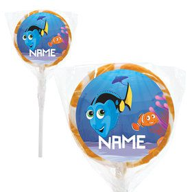 "Just Keep Swimming Personalized 2"" Lollipops (20 Pack)"