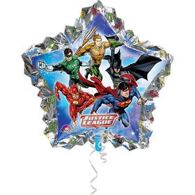 "Justice League 34"" Star Balloon (Each)"