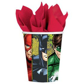 Justice League 9 oz. Cups (8 Count)