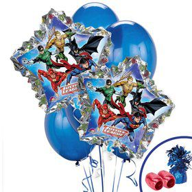 Justice League Jumbo Balloon Bouquet