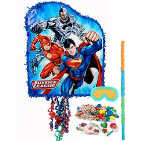 Justice League Pull-String Pinata Kit