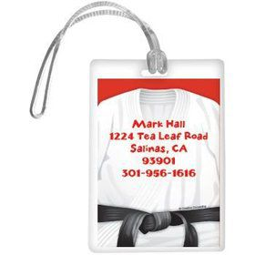 Karate Personalized Luggage Tag (each)