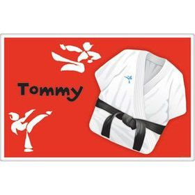 Karate Personalized Placemat (each)
