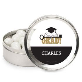 Key To Success Graduation Personalized Mint Tins (12 Pack)
