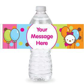 Kitty Personalized Bottle Labels (Sheet of 4)