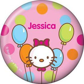 Kitty Personalized Button (each)