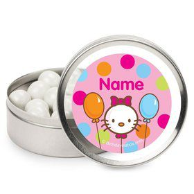 Kitty Personalized Candy Tins (12 Pack)