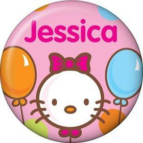 Kitty Personalized Mini Button (each)