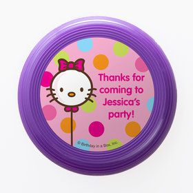 Kitty Personalized Mini Discs (Set of 12)
