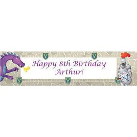 Knight Personalized Banner (each)