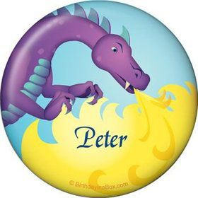 Knight Personalized Button (each)