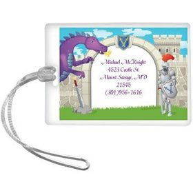 Knight Personalized Luggage Tag (each)