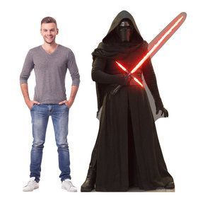 Kylo Ren (Star Wars VII: The Force Awakens) Cardboard Standup (Each)