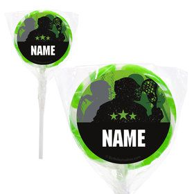 "Lacrosse Personalized 2"" Lollipops (20 Pack)"