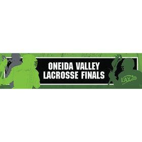 Lacrosse Personalized Banner (Each)