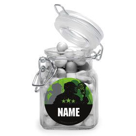 Lacrosse Personalized Glass Apothecary Jars (12 Count)