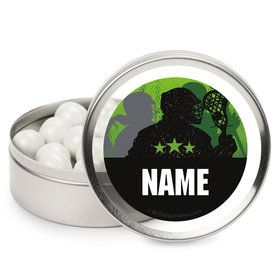 Lacrosse Personalized Mint Tins (12 Pack)