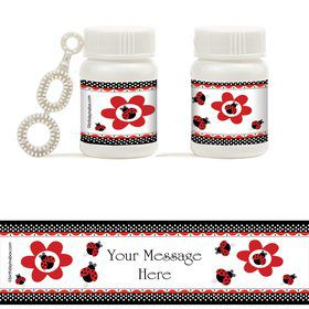 Ladybug Personalized Bubbles (20 Pack)