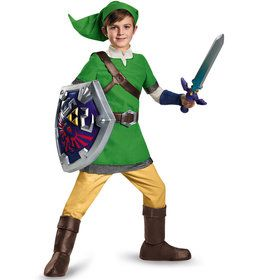 Legend Of Zelda Boys Link Deluxe Costume