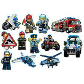 Lego City Cut Out Decorations