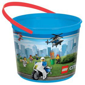 Lego City Favor Container