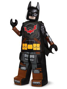 Lego Movie 2: Batman Prestige Child Costume