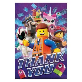 Lego Movie 2 Thank You Postcard (8)