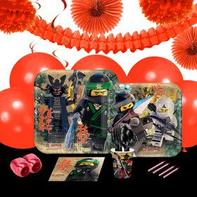 Lego Ninjago 16 Guest Party Pack Deco Kit
