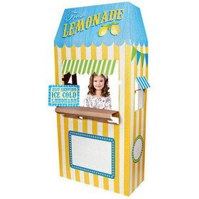 Lemonade Cardboard Stand - 6' Tall