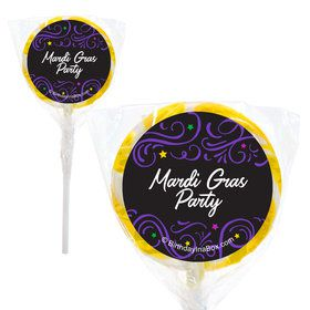 "Let The Good Times Roll Personalized 2"" Lollipops (20 Pack)"