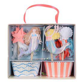 Let's Be Mermaids Cupcake Kit (24)
