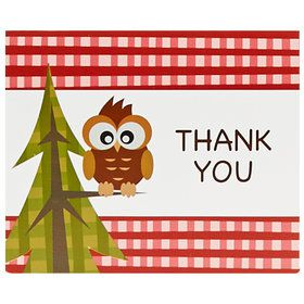 Let's Go Camping Thank-You Notes
