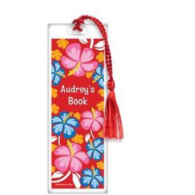 Let's Luau Personalized Bookmark (each)