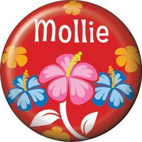Let's Luau Personalized Mini Magnet (each)