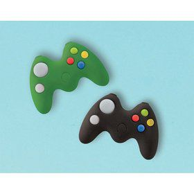 Level Up Game Controller Eraser Favors (8)
