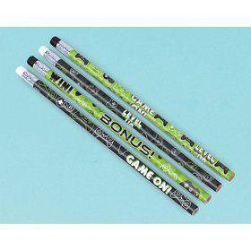 Level Up Pencil Favors (8)