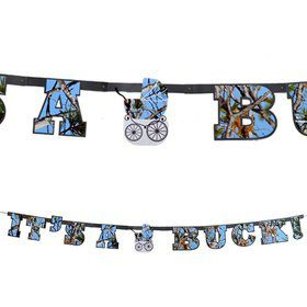 "Light Blue ""It's a Buck"" Banner"