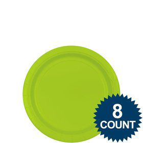 "Lime 7"" Paper Plate, 8ct."
