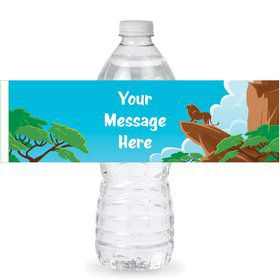 Lion Kingdom Personalized Bottle Labels (Sheet of 4)