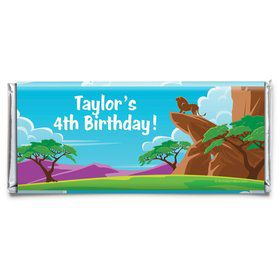 Lion Kingdom Personalized Candy Bar Wrapper (Each)