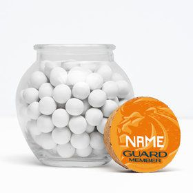 """Lion Pride Personalized 3"""" Glass Sphere Jars (Set of 12)"""