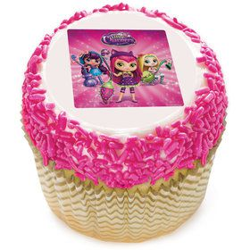 "Little Charmers 2"" Edible Cupcake Topper (12 Images)"