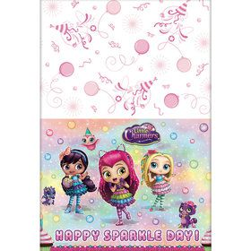 Little Charmers Plastic Table Cover