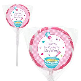 "Little Chef Personalized 2"" Lollipops (20 Pack)"